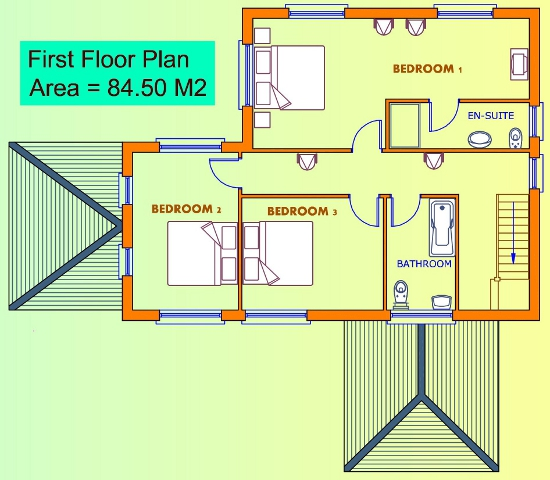 3 Bed House Plans Buy House Plans Online The Uks Online House
