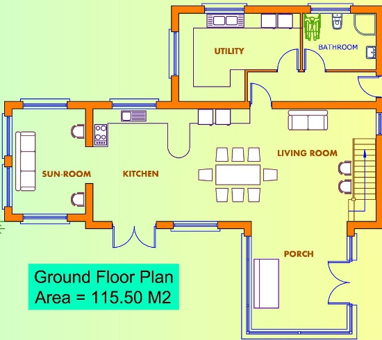 Ground floor house layout house best design Ground floor house plan