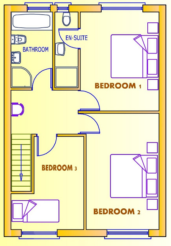 3 Bedroom Ground Floor House Plan Home Plans Ideas