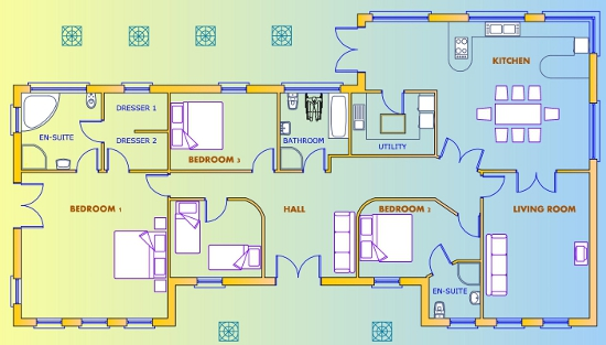 Traditional british house plans | House list disign