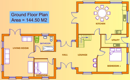 House plans ground floor only house and home design Ground floor house plans