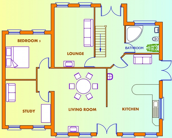 2 bedroom first floor house plans home design and style Ground floor 3 bedroom plans