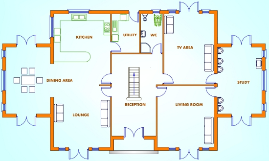 5 bed house plans, Buy House Plans Online, The UK\'s Online House ...