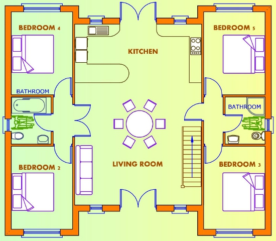 Get house plans uk home design and style for Uk house floor plans